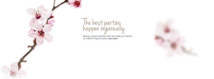 World Organic - beauty products, make up