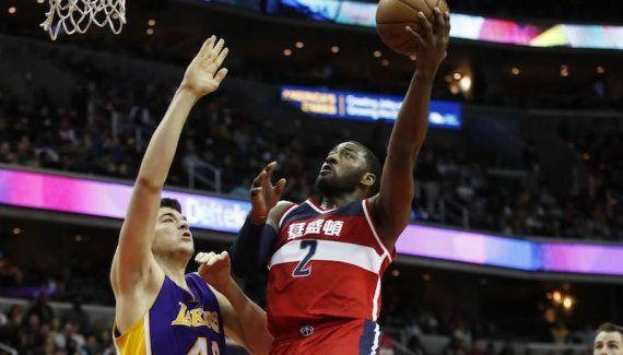 Washington – LA Lakers : John Wall au-dessus du lot -  Et de 16 ! Les Wizards ont poursuivi leur folle série de victoires à domicile – la seconde plus longue de l'histoire de la franchise – en s'imposant (116-108) face… Lire la suite»  http://www.basketusa.com/wp-content/uploads/2017/02/wall-lakers-570x325.jpg - Par http://www.78682homes.com/washington-la-lakers-john-wall-au-dessus-du-lot homms2013 sur 78682 homes #Bas