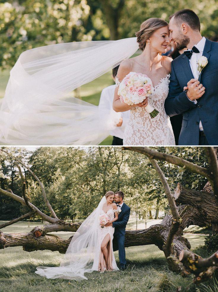 Cudowny reportaż ślubny w stylu romantic-glam od Bajkowe Śluby