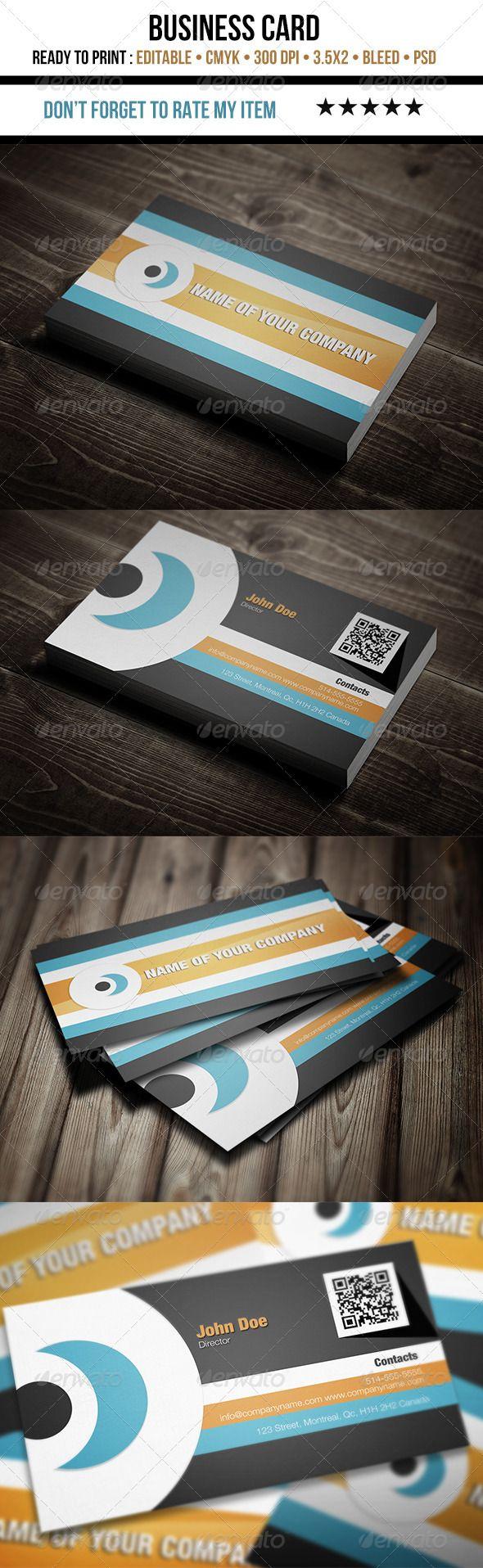 97 best print templates images on pinterest fonts business corporate flat design business card magicingreecefo Images