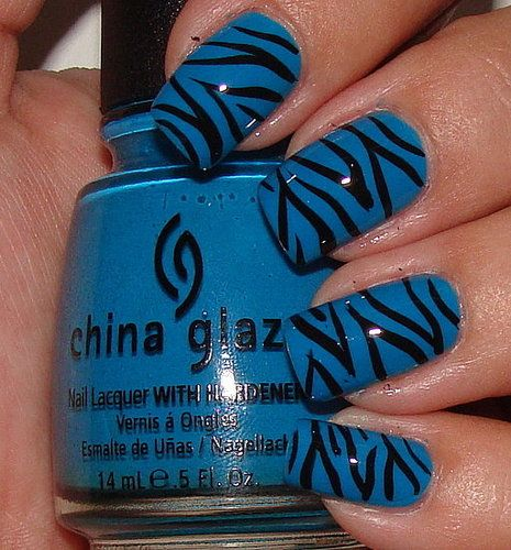 Love this with black nails and white stripes.  Thank you for making striping nail polish.  You have saved me millions on manicures!  :-)