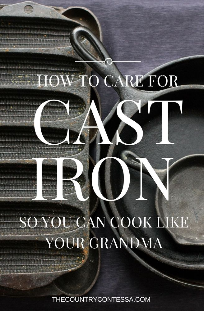 You've always wanted to cook in cast iron but were afraid to try. Learn all the easy tips you need to cook like your grandma in some of the best kitchen tools ever invented.
