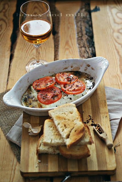 Baked goat cheese | If there's CHEESE involved- I'm probably going to...