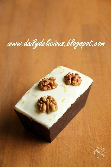 dailydelicious: Simply delicious cake: Mini carrot cake