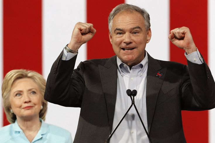 Holy Crap Tim Kaine Just Killed It In His First Speech With Clinton