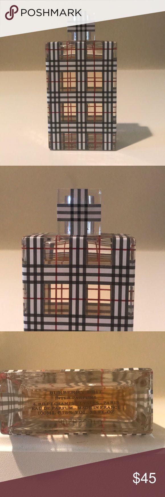 Burberry Brit Inter Perfume 3.3 FL. OZ. Pre owned (bottle still full) Burberry Brit perfume 3.3 FL. OZ. Burberry Makeup