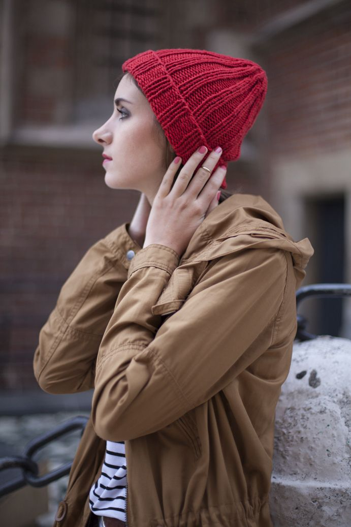 Classic Tenderside beanie hand made of merino wool available on www.tenderside.com