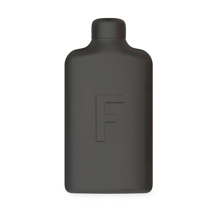 Empty | 18oz | Charcoal Steel | One Bottle