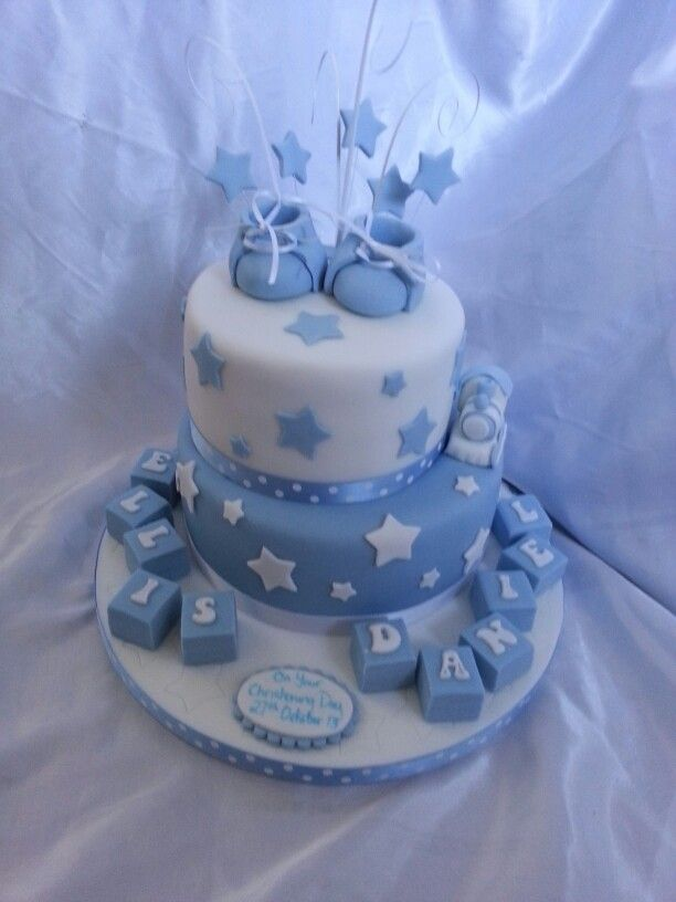 Christening Cake Design Boy : Boys christening cake cake decorating Pinterest