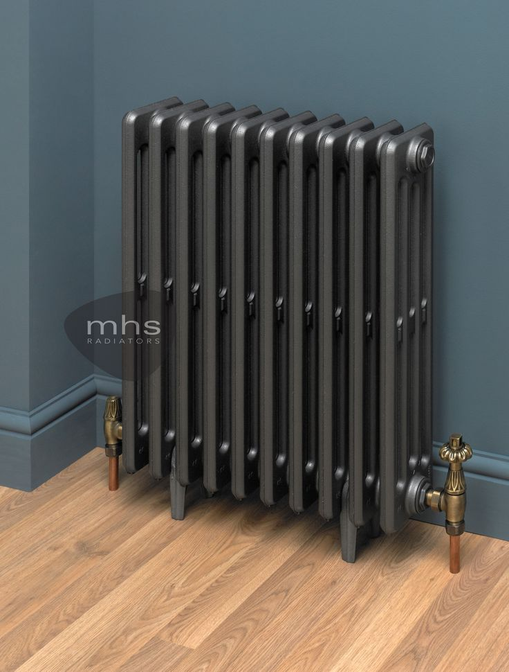 The Clasico high quality cast iron radiator is available in a vast variety of colours ready to complement a traditional Victorian style interior.