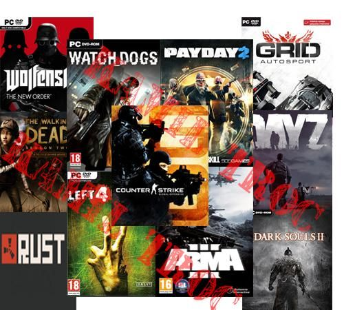 Steam   Payday 2 CS GO Left 4 Dead 2 Watch Dogs