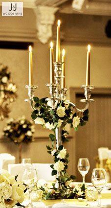 candelabra simple flowers - Google Search