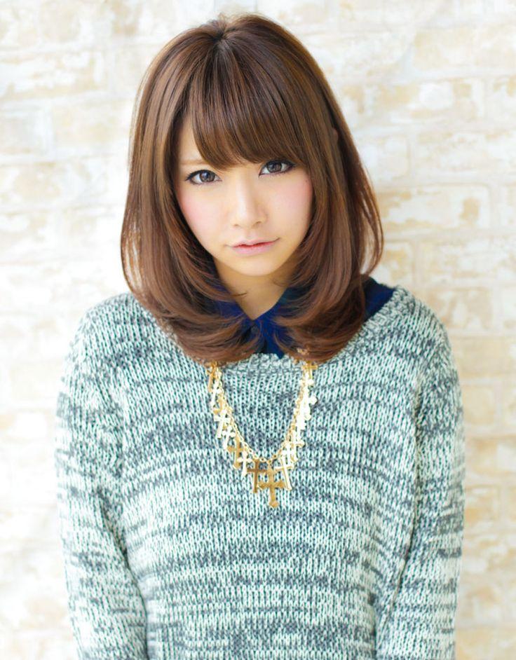 【髪型】小顔効果セミディ内巻きヘア|AFLOAT JAPAN アフロート 裕二朗ゆうじろうのブログ