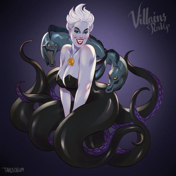 Disney Villains pin up 9 (Ursula - The Little Mermaid)