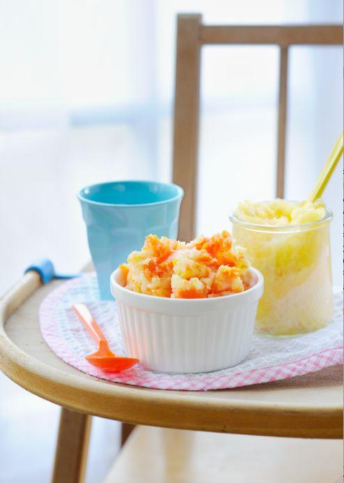 idée recette : la purée de carottes à l'orange