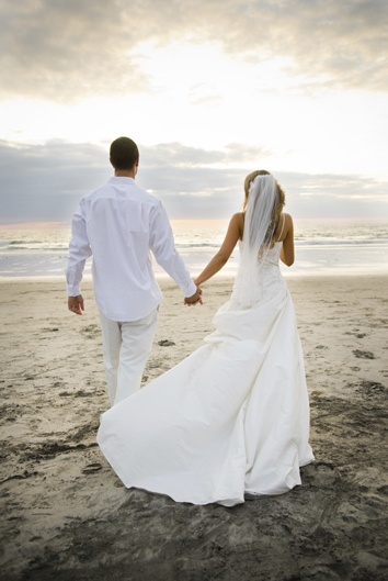 A large part of me wants a wedding on the beach.