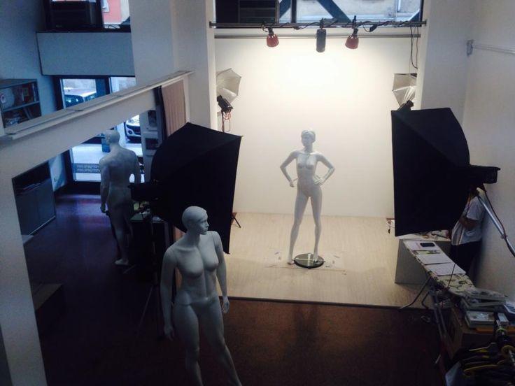 #backstage #shooting #mannequins