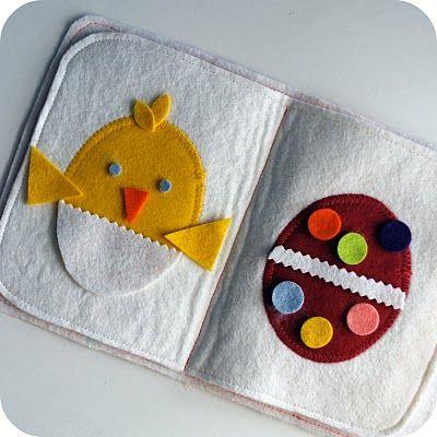 Tutorial And Pattern: Felt Egg Design Book