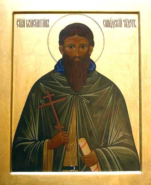 Constantine of Syannada, ascetic - December 26