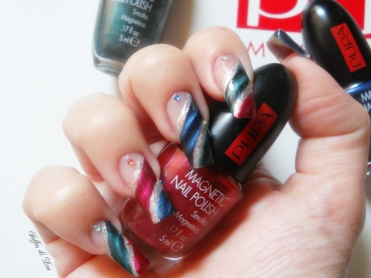 """Nail Art """"MagnetiCircus"""""""