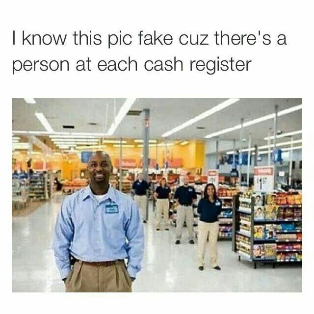 Lmao ... Walmart smh