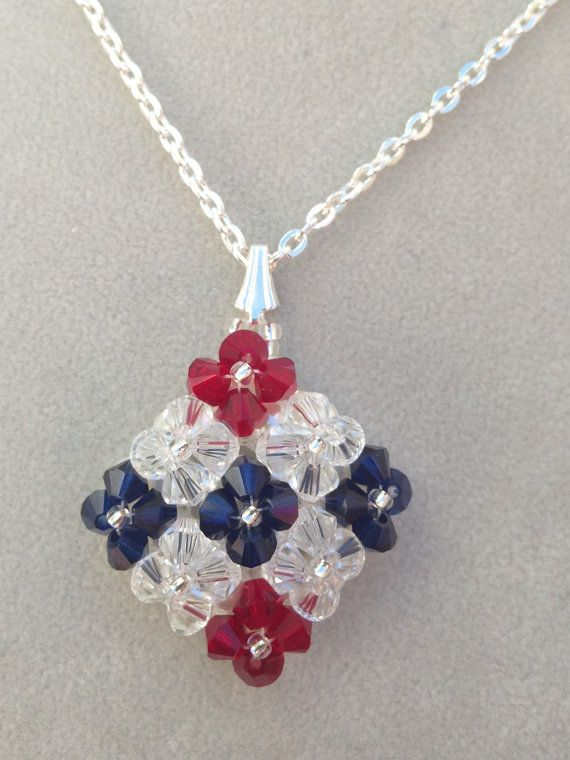 142 best images about bead patriotic on pinterest beaded for Patriotic beaded jewelry patterns