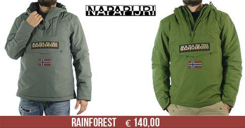 Fino ad esaurimento scorte, Rainforest a € 140,00. Consegna espressa gratuita #napapijri #rainforest