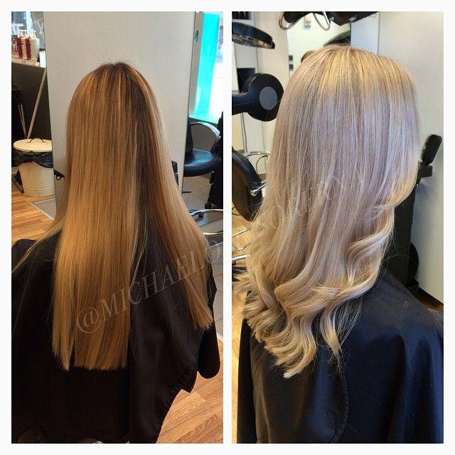 Så bra jobb av Sandra, hon bleker slingor med hjälp av Olaplex, och nyanserar håret i en superkall nyans!  #michaelofrisorerna #hairpassion #stockholm #ombre #ombrehår #ombrehair #balayage #olaplex #olaplexsweden #hair #hairstyle #hairstylist #hår #haircolour #hairfashion #Longhair #hairdresser #blondehair #blonde #brownhair #curlyhair