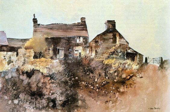 John Blockley the first watercolour artist I ever admired: