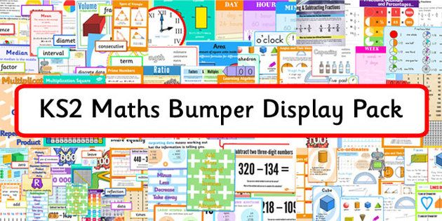KS2 Maths Bumper Display Pack