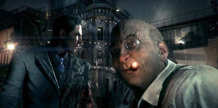 Arkham Knight - Oswald and Harvey