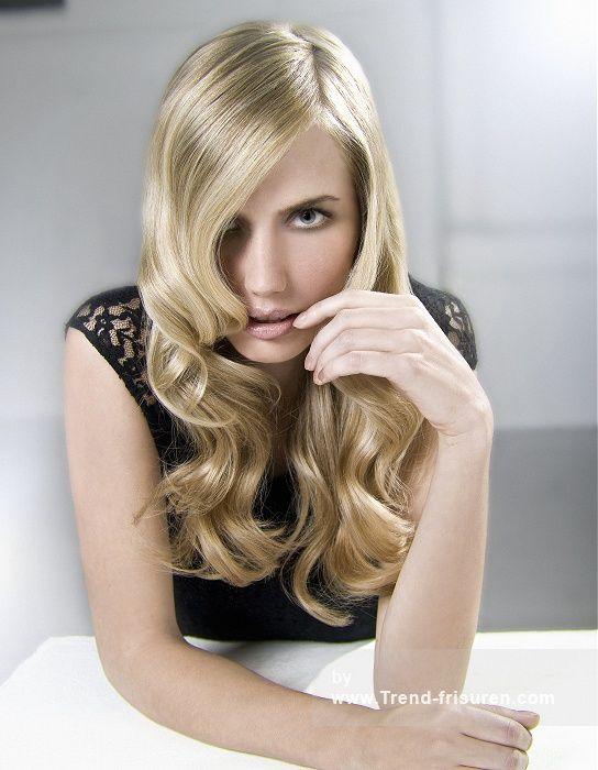 RICHARD WARD Lange Blonde weiblich Gerade Wellig Farbige Perfekte Mädchen Renntag Classi Frauen Frisuren hairstyles