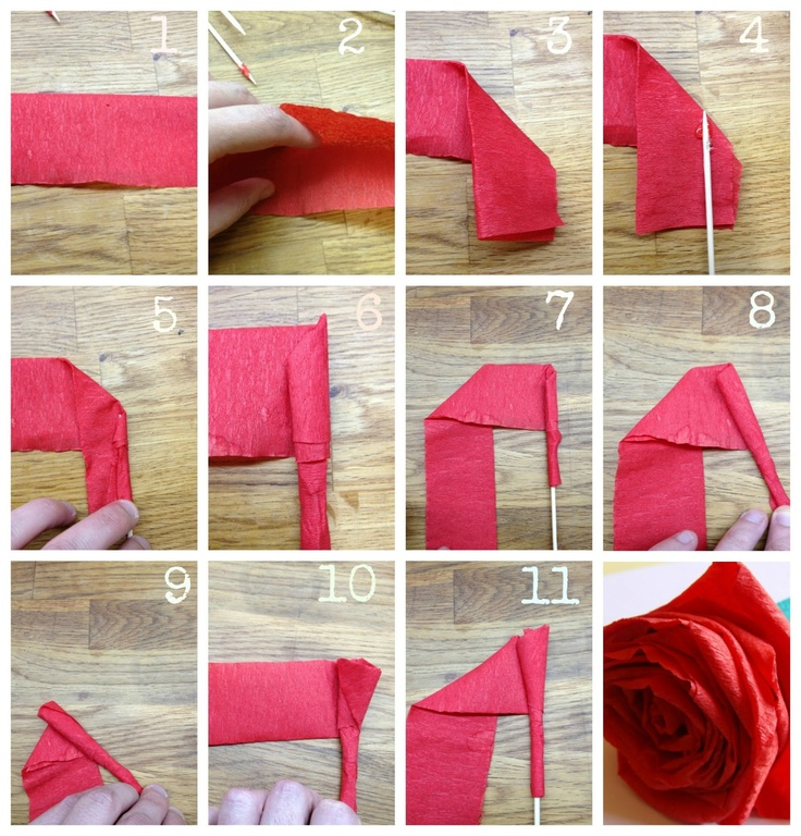 Lingosworld: Lingo tutorial: rosas con papel pinocho
