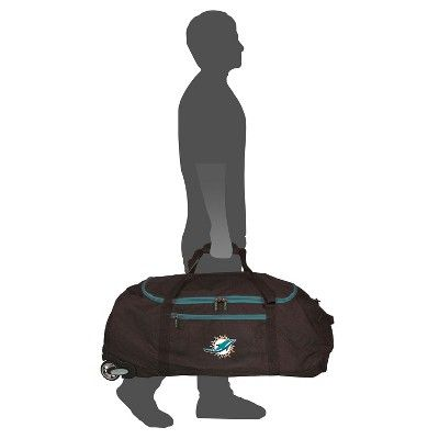 NFL Miami Dolphins 36 Collapsible Duffle Bag