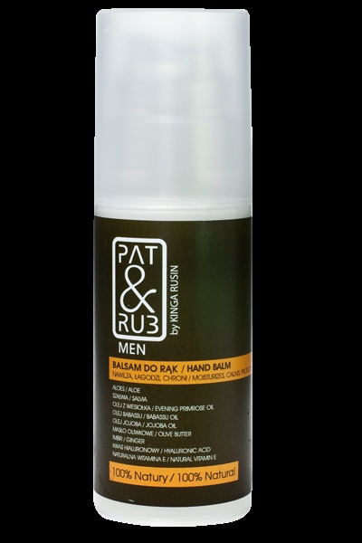 Hand Balm for Men  Moisturizes hands  Protects from environmental factors  eco-certified ingredients