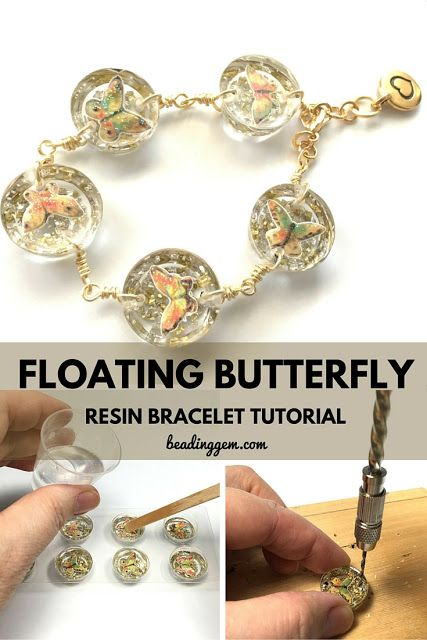 how to make resin butter