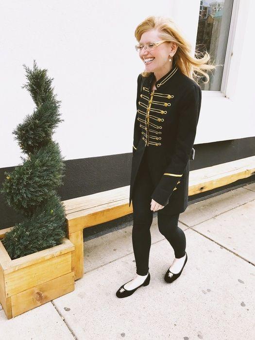 Military-style jackets are always in style #military #militaryjacket #black #allblackeverything #ShopStyle #ssCollective #MyShopStyle #ootd #summerstyle #mylook #fallfashion #ShopStyleFestival #lookoftheday #currentlywearing #wearitloveit #getthelook #todaysdetails #chanel #blazer #blackblazer