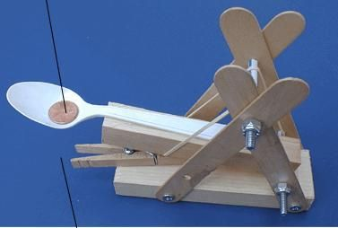 what of simple machine is a catapult