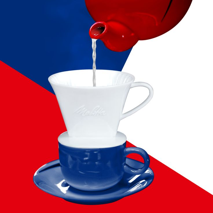 Happy Fourth of July! Celebrate with some iced coffee by brewing your pour-over directly onto ice.