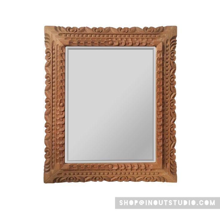 M s de 1000 ideas sobre espejo biselado en pinterest for Espejo marco gris