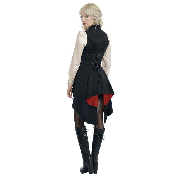 Alice im Wunderland  Weste  »Through The Looking Glass - Hatter Made Dress« | Jetzt bei EMP kaufen | Mehr Fan-Merch  Westen  online verfügbar ✓ Unschlagbar günstig!