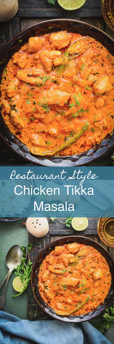 This Restaurant Style Chicken Tikka Masala Recipe is one of the best recipes to make your favourite Indian take out. Here is how to make Chicken tikka masala. Chicken I Curry I Tikka I masala I homemade I Indian I recipe I food I photography I styling I Easy I simple I best I quick i Authentic I traditional via @WhiskAffair