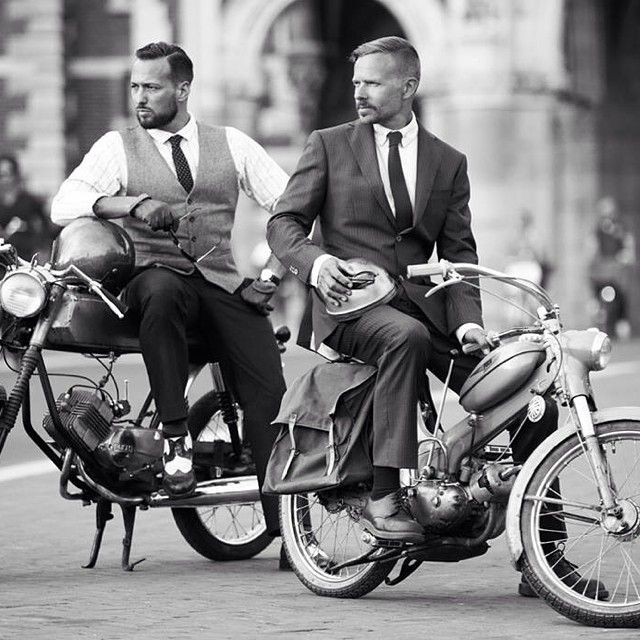 It's a weekend Gentlefolk. You have 3 more to decide on which bike and which dapper. #ridedapper #gentlemansride #dgr2014 #jointhegentry