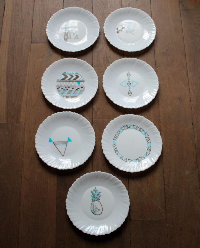 Assiette arcopal sur Pinterest | Nostalgie, Vaisselle arcopal et ...