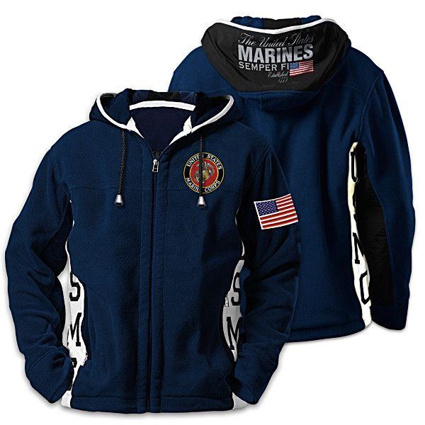 USMC Semper Fi Men's Hoodie