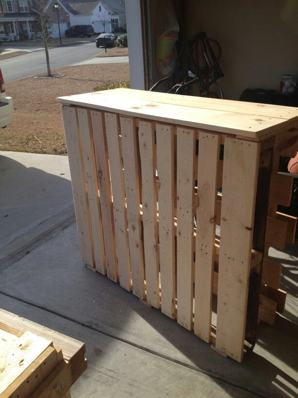 55 gallon fish tank stand using two pallets kinnfolk for 55 gallon fish tank and stand