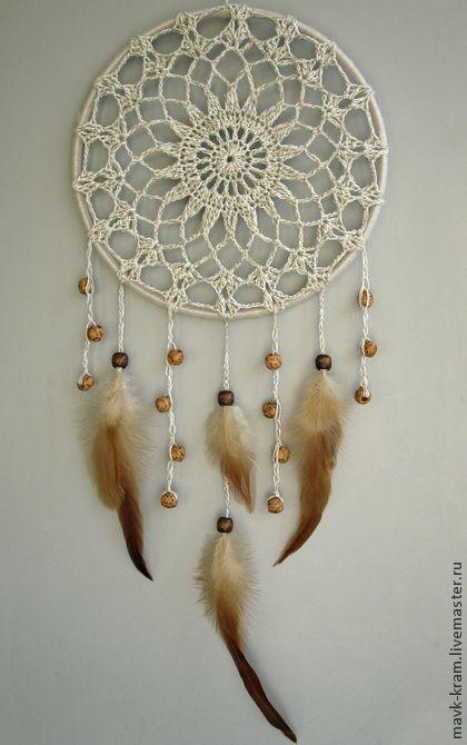 Ловец снов Винтажный - перья,перья птиц,ловец снов,ловушка для снов,подарок