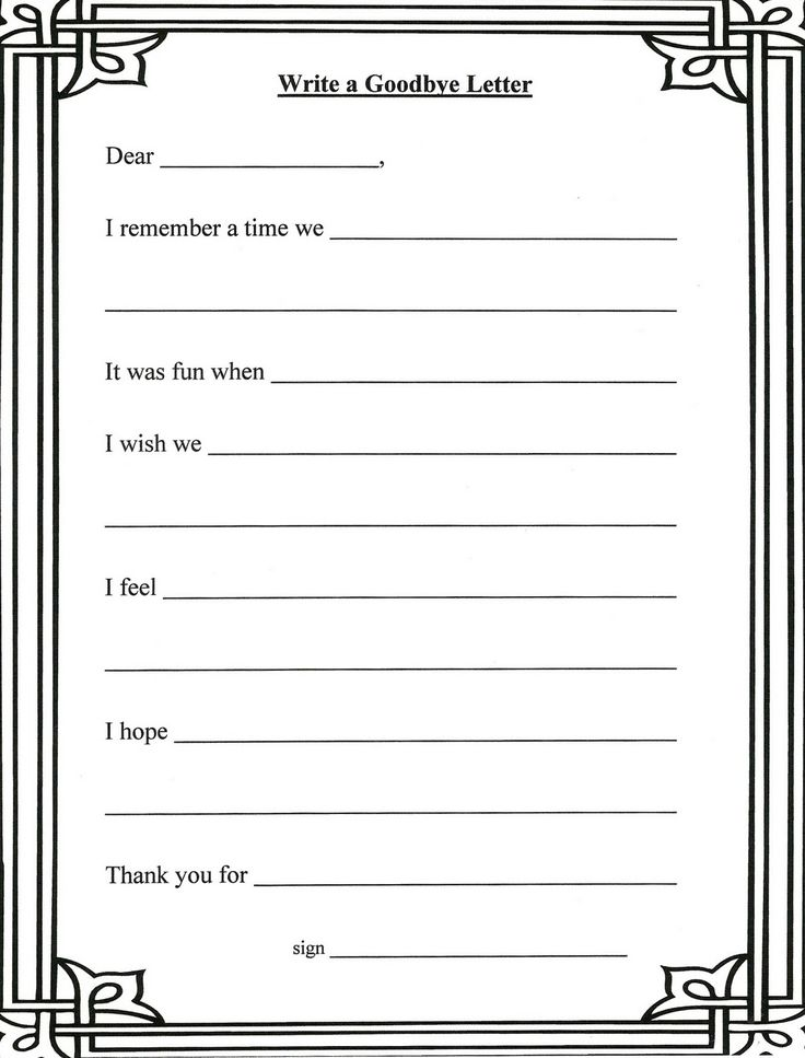 Grief And Loss Worksheets For Children – Grief and Loss Worksheets