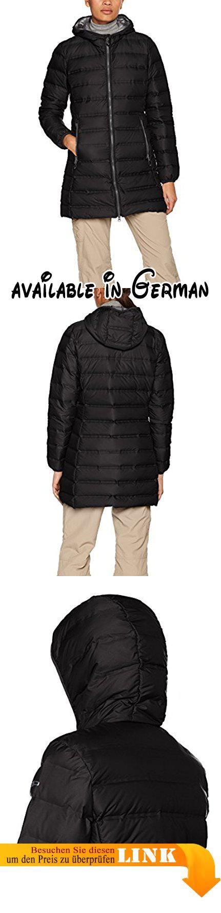 B073HBVN27 : CMP Damen Daunen Mantel Nero-Grey 48. warmer Daunen/ Parka mantel mit Kapuze. 90% Daune 10% Federn. gelaserte Nähte- keinen Daunenaustritt mehr. warm weich extrem leicht. sehr warm 600 Cuin