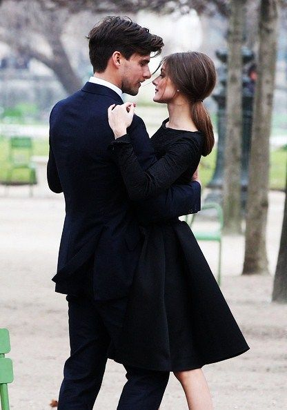 I have to be honest. I saw her on the City and thought she was rude, but these photos of her and her bf keep popping up on blogs I read... and they are gorgeous!
